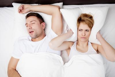 Snoring Couple | Sleep Apnea Portland OR